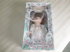 "NIB 1992 RoseArt PRECIOUS MOMENTS BRIDE Vinyl DOLL  - 10""  - $8.91"