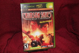 Crimson Skies High Road To Revenge Xbox COMPLETE CIB Not For Resale NFR - $15.47