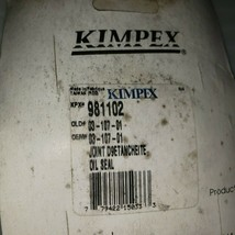 Kimpex 981102 Chaincase Oil Seal 03-107-01 - $9.90
