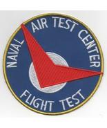 """4"""" NAVY NAVAL AIR TEST CENTER NATC FLIGHT TEST PAX RIVER ROUND EMBROIDER... - $23.74"""