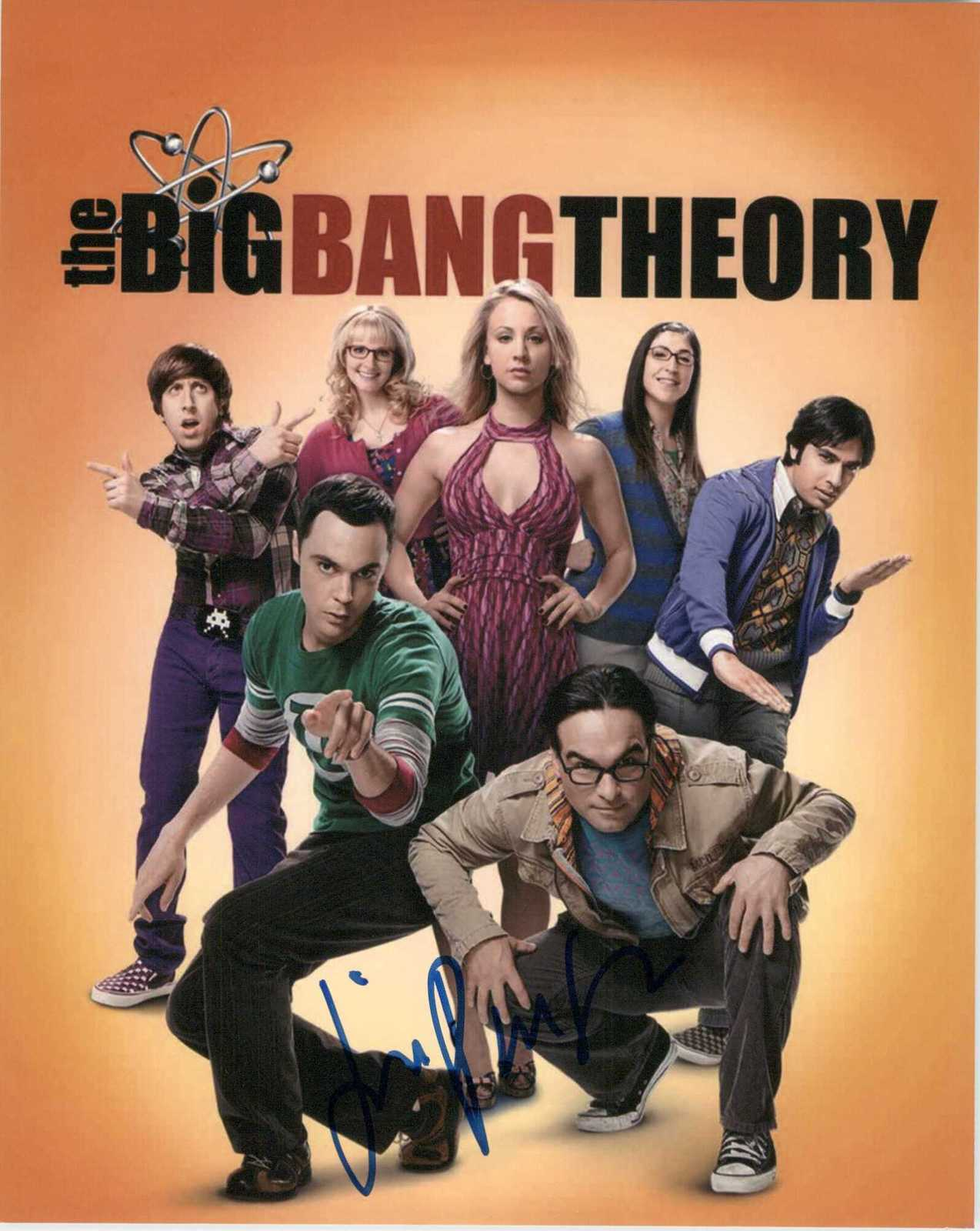 "Primary image for Jim Parsons Signed Autographed ""The Big Bang Theory"" Glossy 8x10 Photo"