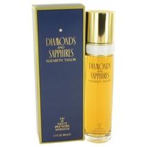 Diamonds & Saphires By Elizabeth Taylor Eau De Toilette Spray 3.4 Oz 403 - $24.72