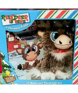 Reindeer In Here A Christmas Friend Box Set Book and Plush Gift NEW Adam... - £13.09 GBP