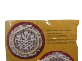 The Creative Circle Hearts and Flowers Needlework Cross-stitch 1325 - $16.45