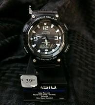 Casio Men's Tough Solar Illuminator 5 Alarms Resin 47Mm Watch Aqs810w-1Av - $34.65