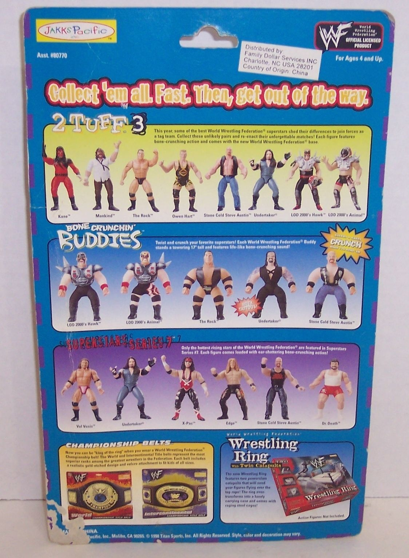 "NEW! 1998 Jakk's Pacific Special Edition ""Billy Gunn"" 6"" Action Figure WWE {794}"