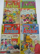 Little Archie Comic Books Bronze Age Cartoon Lot 62 71 108 168 - $18.49