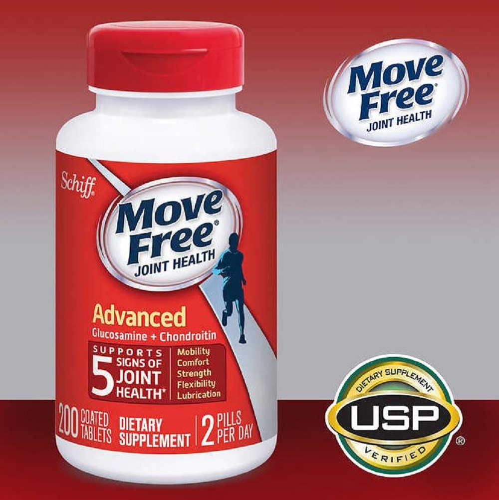 Move Free Advanced Joint Health Mobility Support Supplement 200 Tabs Schiff  FSA