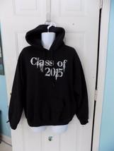 Gildan Black Pullover Hoodie Sweatshirt Class of 2015 Size L Men's NWOT - $23.40