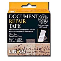 Archival Document Repair Tape 1Inch X 98 Feet Strong Thin Acid Free Tissue - $18.64