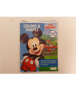 Disney Mickey Colors Shapes Kids Activity Book By Bendon School Skills a... - $2.95