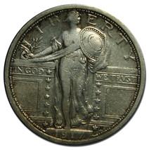 1917S Type 1 STANDING LIBERTY QUARTER 25¢ Coin Lot# MZ 3236