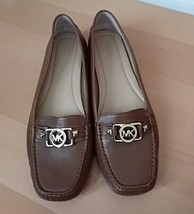 Michael Kors brown leather loafers size 11b - $59.40