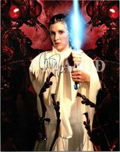 Carrie Fisher Authentic Autographed Hand Signed 8X10 Photo w/COA 542 - $110.00