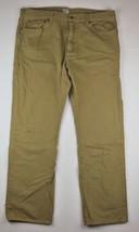 J Crew Vintage Jeans Pants Cotton Men Sz 38 x 32 Slim Straight Beige - $26.99