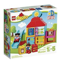 LEGO Duplo My First Playhouse 10616 Toy for 1-Year-Old - $63.31