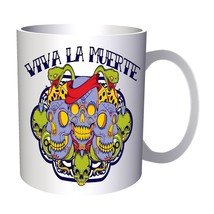 Viva La Muerte Skulll Snakes 11oz Mug x331 - $10.83