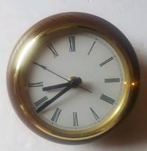 Colonial Molyneux Maritime Style Ship Porthole Clock Quartz - $73.71