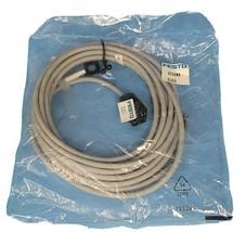 NEW FESTO KMEB-1-24-5-LED CABLE WITH SOLENOID 3 PIN PLUG SOCKET 151689