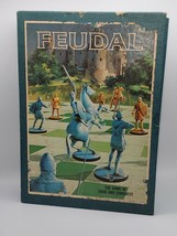 Feudal Vintage 1967 3M Board Game-Unused-Game Of Siege And Conquest - $38.61