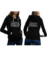 New Game Of Thrones Hoodie Classic Women Black - $35.99