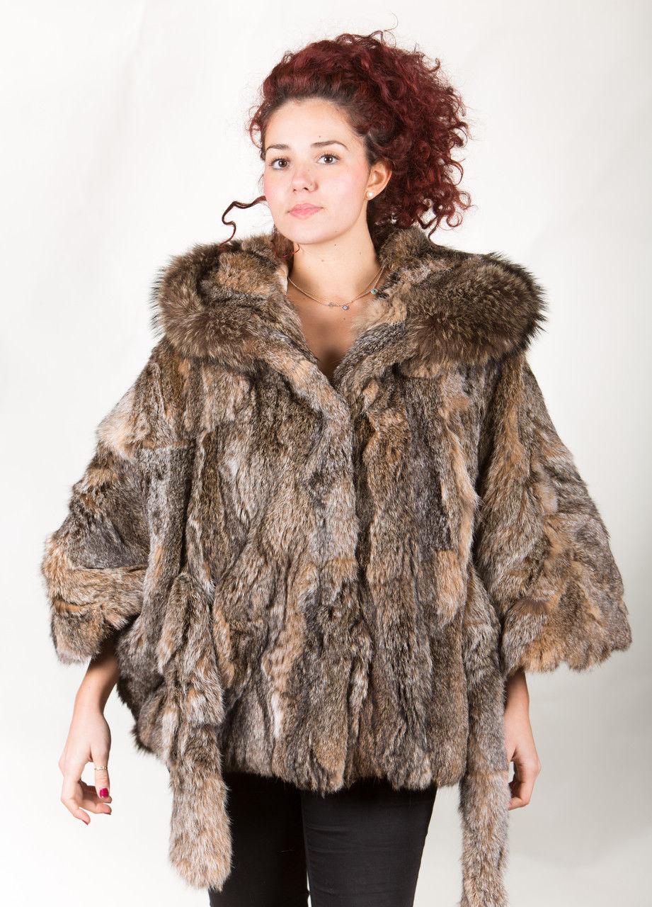 Canadian Lynx Fur Cape Hood Belt image 8
