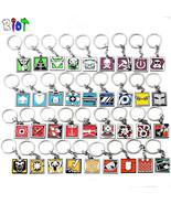36 Types Game Rainbow Six Siege Keychain Zinc Alloy Keyring Metal Pendan... - $8.26