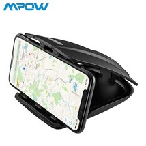 Mpow CA090 Car GPS Phone Holder Stable Desk Holder With Three Slots Mult... - $21.27