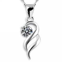 Merdia Weekly Promotion 30% Discount 925 Sterling Silver Necklace With C... - $32.08