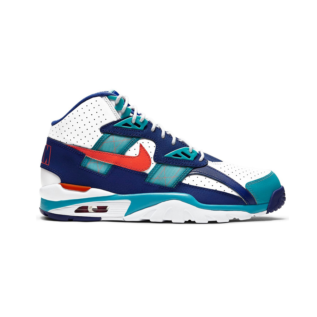 Primary image for Nike Air Trainer SC High (Miami Dolphins/ Navy Teal/ Orange White) Men 8-13