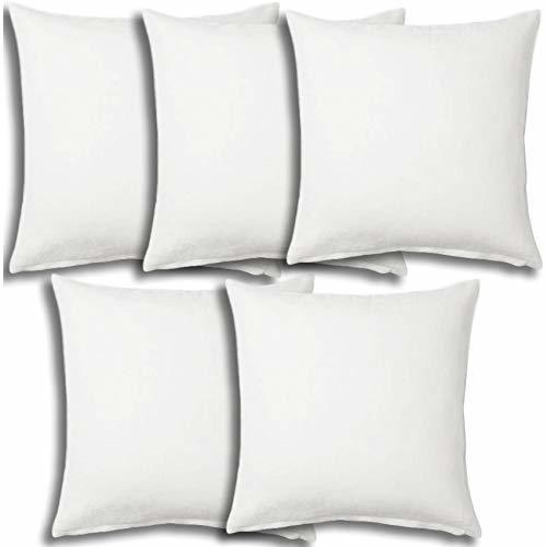 Set of 5 - Pillow Insert 28x28 Decorative Throw Pillow Inserts - Euro Sham Stuff - Pillowcases