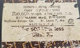 COOPER BUSSMANN LPS600 FUSE TIME DELAY DUAL ELEMENT 600AMP, 600V image 3