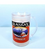 Alaskan Amber Alt Style Beer Stein with Double Wall Gel-Filled Acrylic F... - $14.24