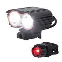 Victagen Bike Light,Bicycle Front & Tail Light,Super Bright 2400 Lumens,... - $30.10