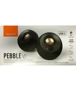 Creative - 51MF1695AA000 - Pebble V2 2.0 Speaker System - 8 W RMS - Black - $49.45