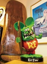 Bobbing Rat Fink with Surfboard - $75.00
