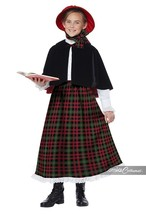 California Costumes Holiday Caroler Child Girls Christmas Xmas Costume 0... - $35.50