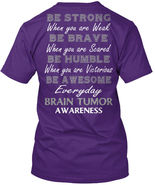 One-of-a-kind May Is Brain Tumor Awareness Month Hanes Hanes Tagless Tee T-Shirt - $24.00