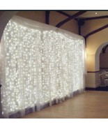 304LED Indoor/Outdoor Christmas String Fairy Wedding Curtain Lights Wate... - $19.80