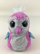 "Hatchimals Penguala Interactive Pink White Penguin Pet Spin Master 5"" Hatched - $26.68"