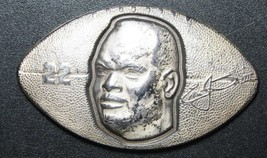 Emmitt Smith 22 RB Football silver art 1 Ounce Dallas Cowboys Lot # N 506