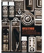 ORIGINAL Vintage 1970s Ovation Strings & Accessories Catalog - $19.79