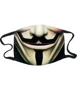 GDA Get Down Art Daveed Benito Guy Fawkes Reusable Face Mask G-DB-133-MA... - $19.99
