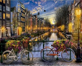 """Amsterdam Street 16X20"""" Painting By Number Kit DIY Acrylic Painting on Canvas  - $8.99"""
