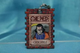 Bandai One Piece Portrait Plate P1 Gashapon Keychain Figure Crocodile Mr. 0 - $16.99