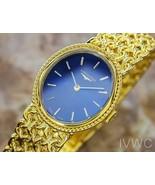 Longines Rare Ladies Gold Plated Luxury Manual Dress watch 23mm Circa 19... - $683.10