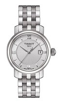 Tissot Women's Bridgeport Quartz Silver Dial Silver Stainless Steel Watch - $397.38