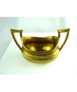 Hutschenreuther Selb LHS Bavaria Gold Sugar Bowl China Vintage - $24.75