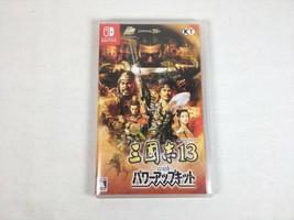 Nintendo Switch Game soft Three kingdoms 13 with Power up kit KOEI Japan - $149.99