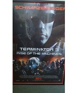 Signed 3 1/2 ft Terminator 3 Poster signed by Arnold Schwarzenegger Wall... - $1,258.59